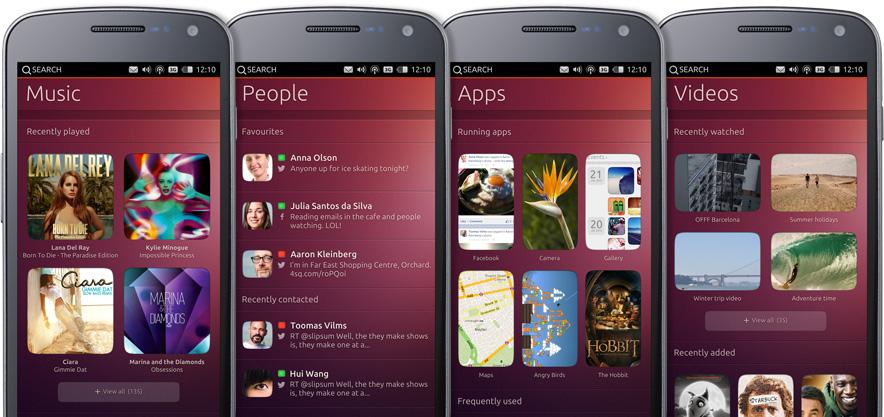 Ubuntu Mobile Phone OS