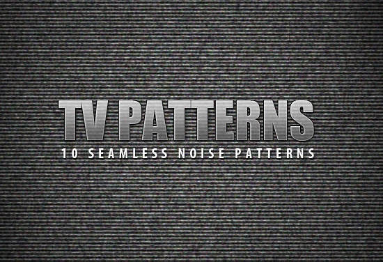 Free Seamless TV Noise Patterns
