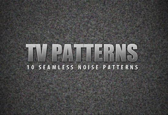 Free Seamless TV Noise Patterns