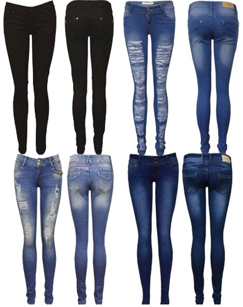Women's Fashion Tips on How to Wear Denim Jeans
