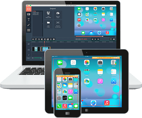 Recording Different Videos From Apple Devices with Movavi Screen Capture Studio for Mac