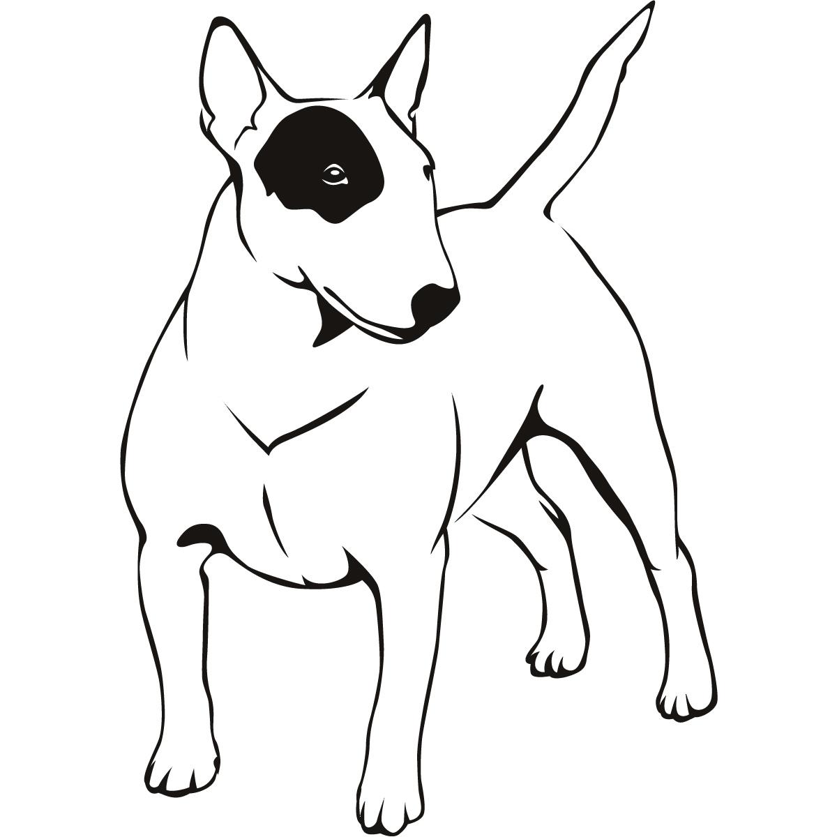 Dibujos Para Colorear De Un Cachorro De Perro