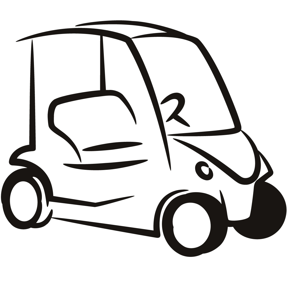 Golf Buggy Clip Art