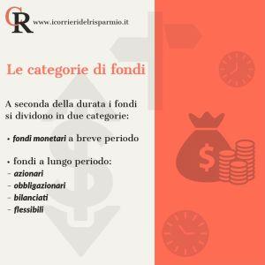 Fondi Comuni – Le categorie