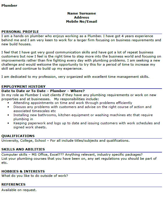 Resume Hobbies Examples Fresh Essays Cv Hobbies And Interests Template