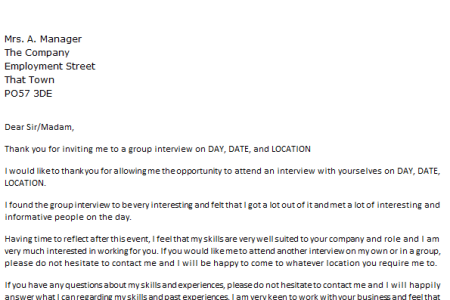 Writing An Interview Thank You Letter Full Hd Maps Locations