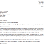 Poundland Cover Letter Example