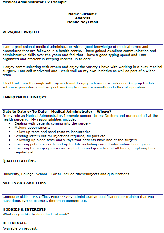 medical assistant essay example Medical assistant word count: 535 approx pages: 2 save essay the medical field is a fast growing field, which makes people interested in the field of medicine job prospects should be best for medical assistants with formal job training or experience (farr 123.