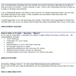 Barrister CV Example
