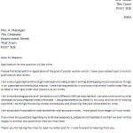 Royal Mail Cover Letter Example