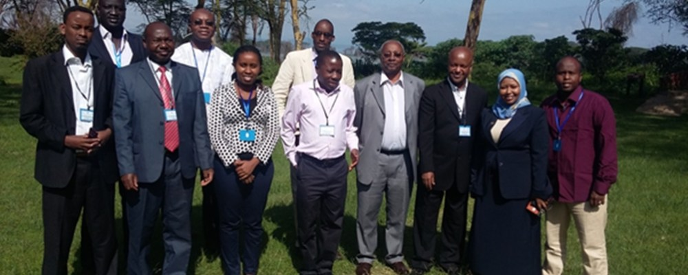 Participants at the Regional Technical Back-Stopping Workshop for ARIS II Administrators from the IGAD region held at Naivasha, Kenya from 9th to 10th June 2015