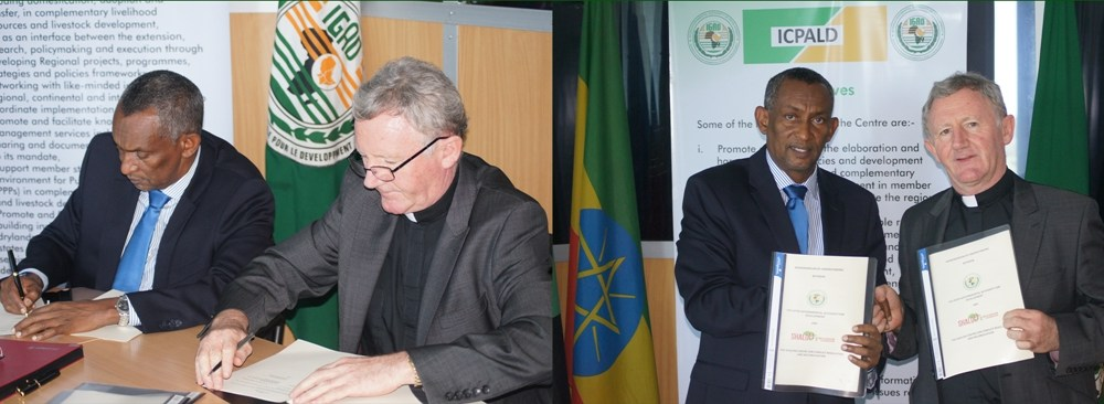 IGAD Signs an Updated MoU with Shalom Center