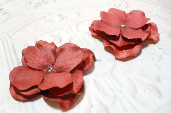 2 in. Artificial Silk Flower