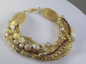 6 strand bracelet classic style bracelet
