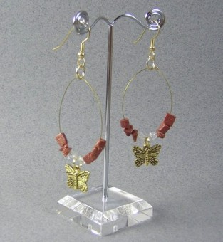 Butterfly Wired Earrings