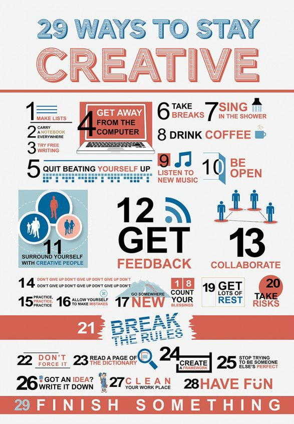 Best Ways to Increase Your Creative Inspiration