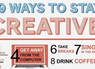 Ways to Stay Creative