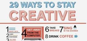Ways to Stay Creative