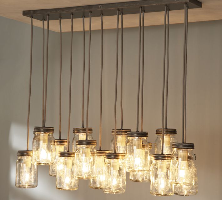 Mason Jar Hanging Lighting