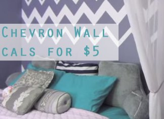 DIY-Chevron-Wall-Decals-for-$5