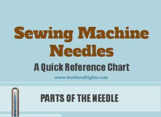 Quick Guide to Sewing Machine Needles