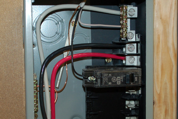 How To Connect Wire To Electrical Panel