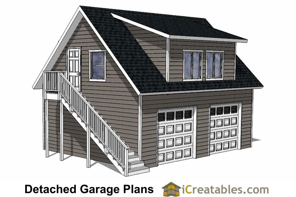 Detached Garage Plans