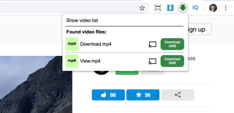 download video files from a web page