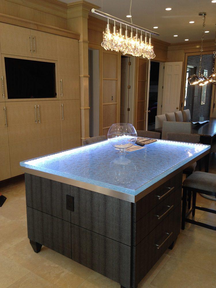 Stunning Glass Countertops By CBD Glass ICreatived