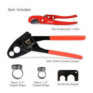 COPPER RING CRIMPING TOOL