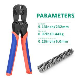 iCrimp wire rope cutter CWR60 parameters