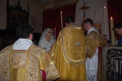 Remise du cierge