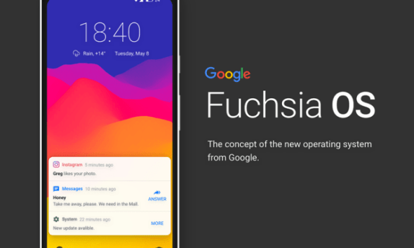 Google quietly clarifies that it's Working on Fuchsia OS at Google I/O 2019