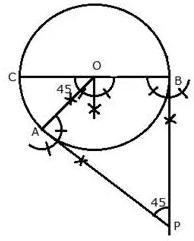 Selina Concise Mathematics Class 10 ICSE Solutions Constructions (Circles) image - 3