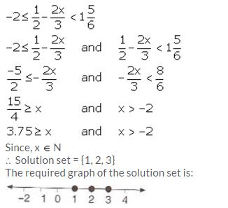 Selina Concise Mathematics Class 10 ICSE Solutions Linear Inequations (in one variable) - 27