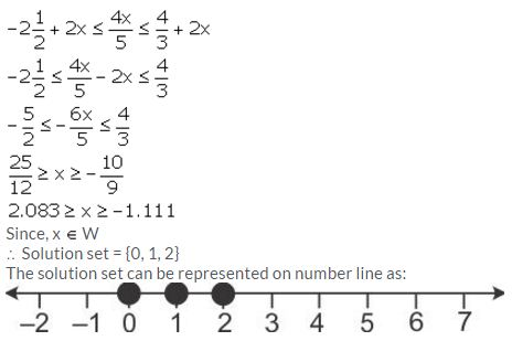Selina Concise Mathematics Class 10 ICSE Solutions Linear Inequations (in one variable) - 54