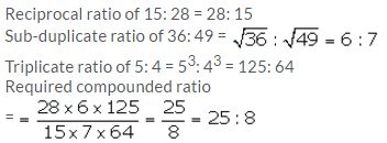 Selina Concise Mathematics Class 10 ICSE Solutions Ratio and Proportion (Including Properties and Uses) - 37