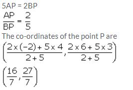 Selina Concise Mathematics Class 10 ICSE Solutions Section and Mid-Point Formula - 13