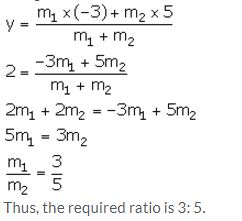 Selina Concise Mathematics Class 10 ICSE Solutions Section and Mid-Point Formula - 15