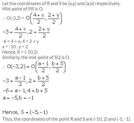 Selina Concise Mathematics Class 10 ICSE Solutions Section and Mid-Point Formula - 48