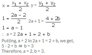 Selina Concise Mathematics Class 10 ICSE Solutions Section and Mid-Point Formula - 78