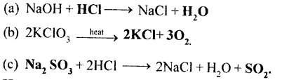 Selina Concise Chemistry Class 8 ICSE Solutions - Chemical Reactions 28