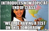 *cough cough* Ms. Keister