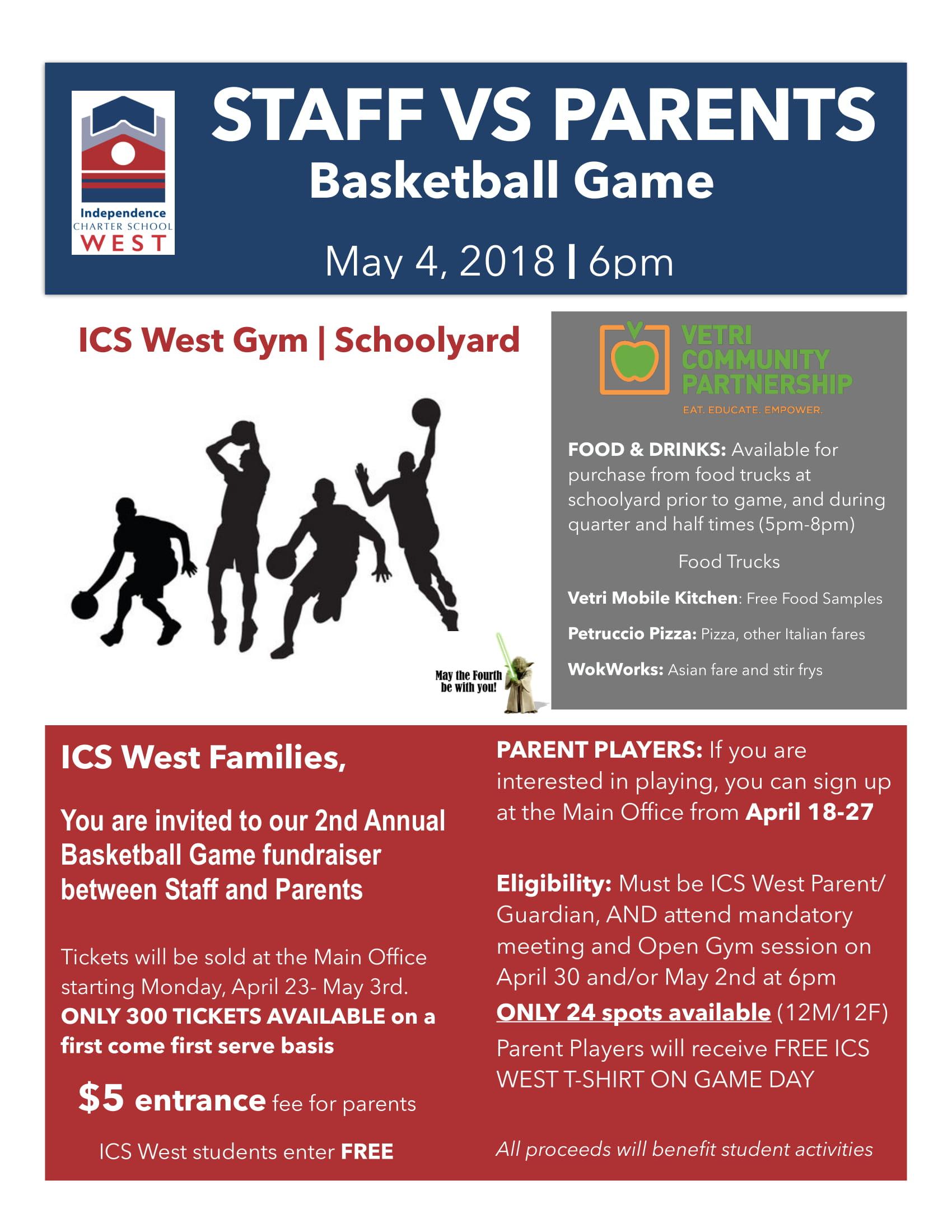 Basketball Game Flyer-1