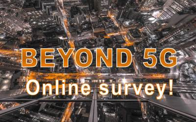 Beyond 5G online survey!