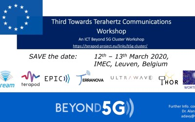 Third Towards Terahertz Communications Workshop