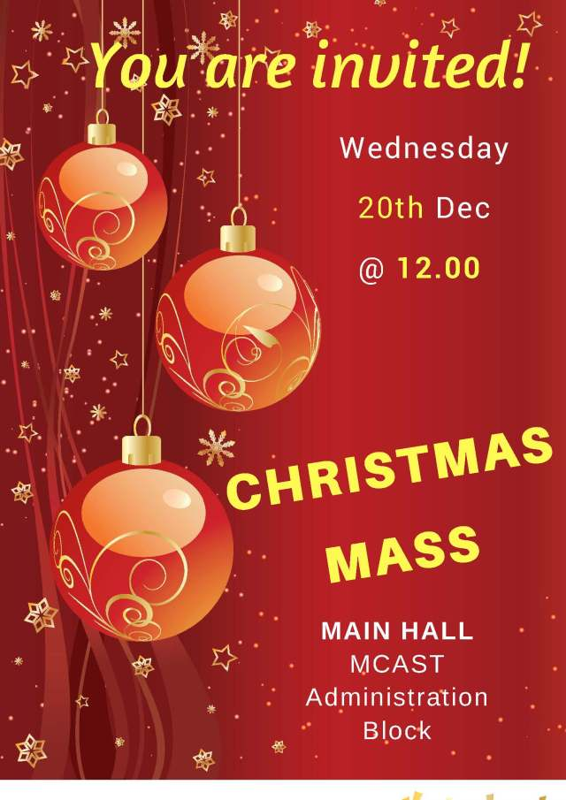 Christmas Mass MCAST - 2017