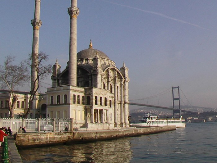 On the Bosphore river in Istanbul