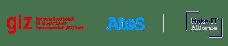 GIZ ATOS and MAKE IT logos