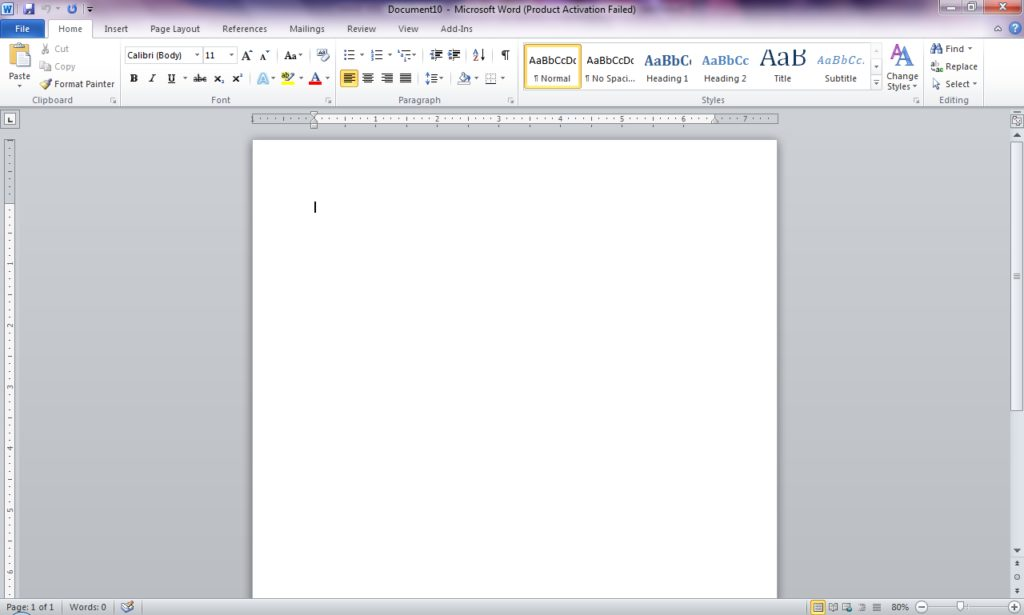 ms-word-blank-page